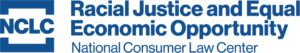 "Blue NCLC logo followed by the words ""Racial Justice and Equal Economic Opportunity"" in bold."