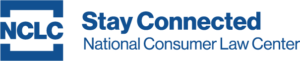 "Blue NCLC Logo followed by the words ""Stay Connected"" in bold."
