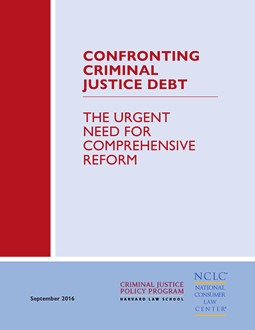 Criminal Justice Debt cover