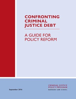 Confronting criminal justice debt cover