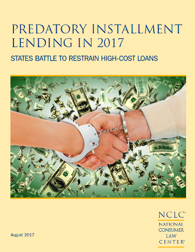 predatory installment lending report cover image