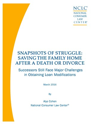 Snapshots of Struggle: Saving the Family Home After a Death or Divorce