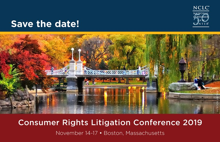 The Consumer Rights Litigation Conference and Class Action